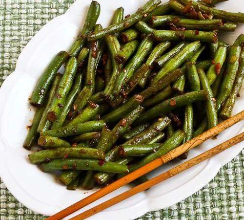 Зеленая фасоль в китайском стиле | Рецепты с фото