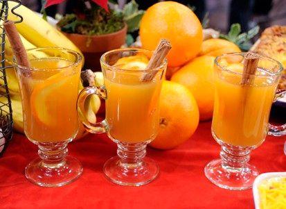 Апельсиновый чай | Рецепты с фото