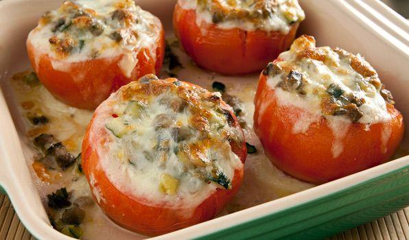 Фаршированные помидоры | Рецепты с фото