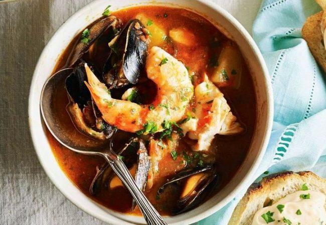 Французский рыбный суп - буйабес | Рецепты с фото
