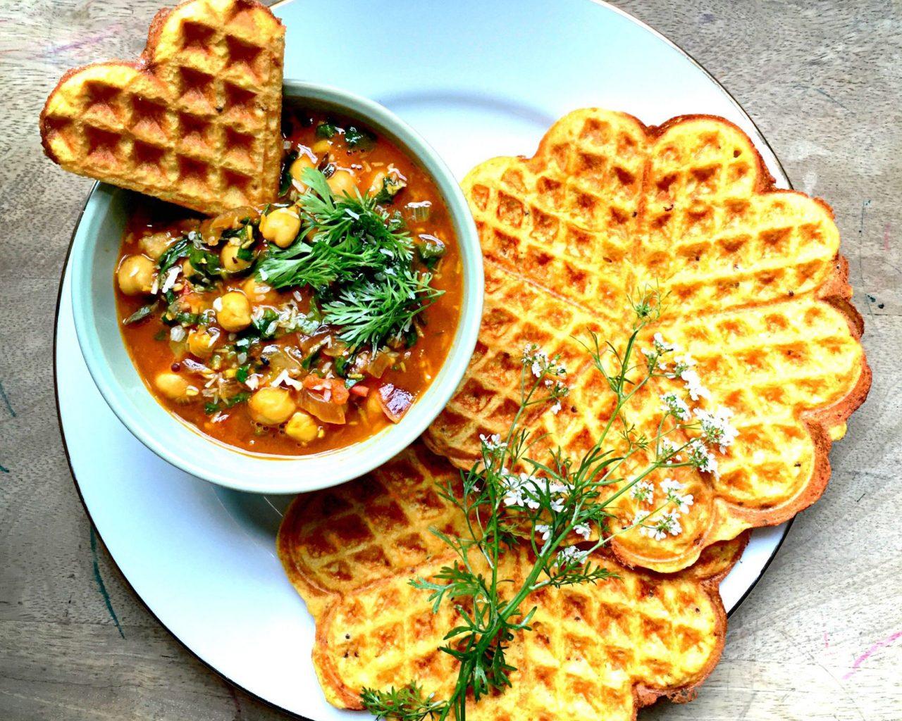 Индийские вафли | Рецепты с фото