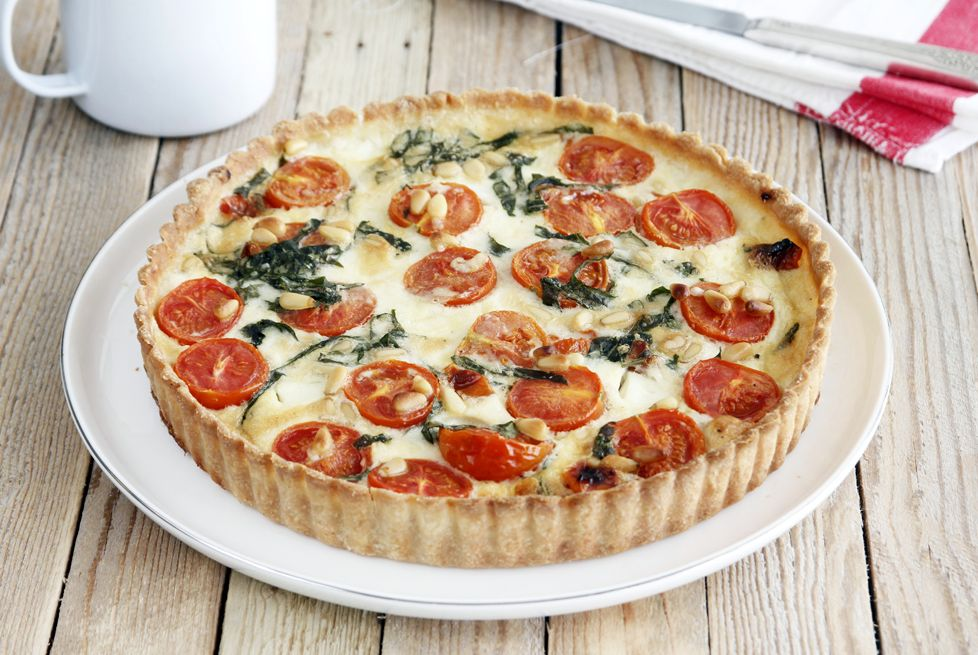 Киш с помидорами | Рецепты с фото