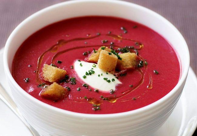 Суп-крем из свеклы | Рецепты с фото