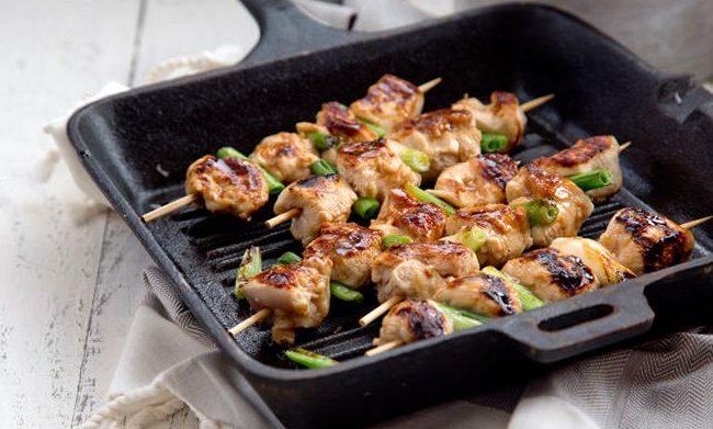 Курица якитори | Рецепты с фото