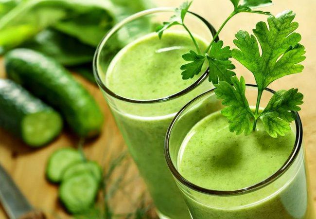 Овощной смузи | Рецепты с фото