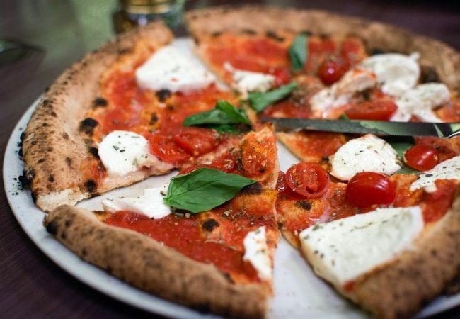 пицца маргарита, пицца, итальянская пицца, итальянская пицца Маргарита