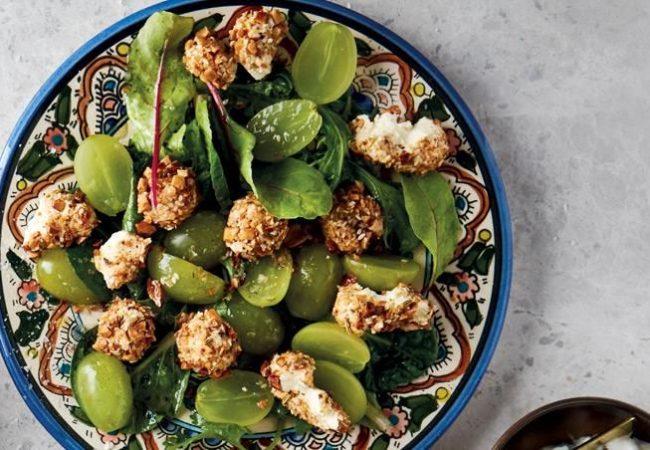 Салат с виноградом   Рецепты с фото