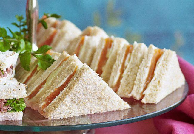 Сэндвичи с семгой | Рецепты с фото