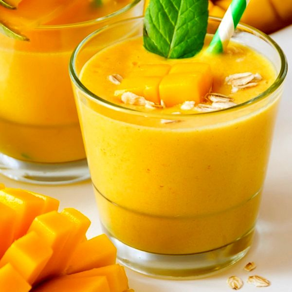 Смузи из манго и банана | Рецепты с фото