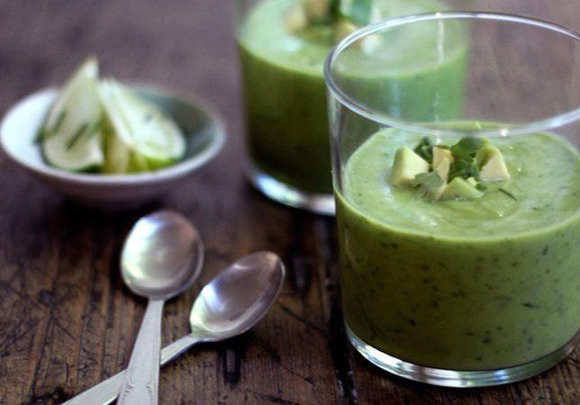 Смузи-суп из авокадо | Рецепты с фото