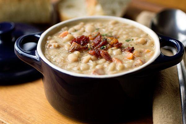 Суп из белой фасоли | Рецепты с фото