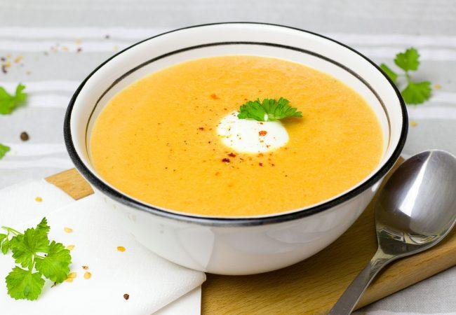 Суп-пюре из тыквы | Рецепты с фото