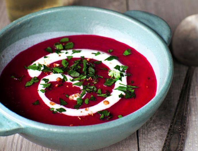 Суп-пюре из свеклы | Рецепты с фото