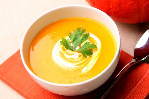 Тыквенный крем-суп | Рецепты с фото