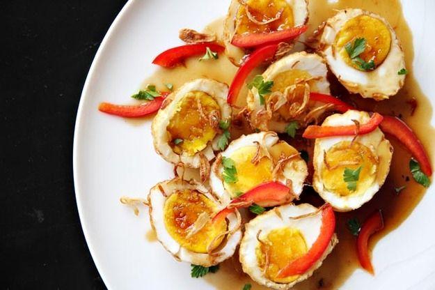 Яйца по-тайски | Рецепты с фото