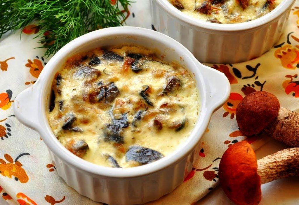 захоронения блюда из белых грибов рецепты с фото оправданием