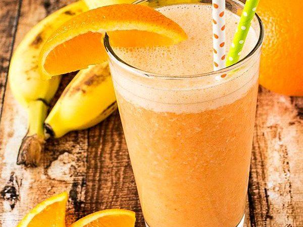 Цитрусовый смузи с бананом | Рецепты с фото