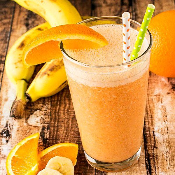 смузи из банана и цитрусов, смузи из банана, смузи, смузи из цитрусов, цитрусовый смузи, смузи из апельсина, смузи из грейпфрута