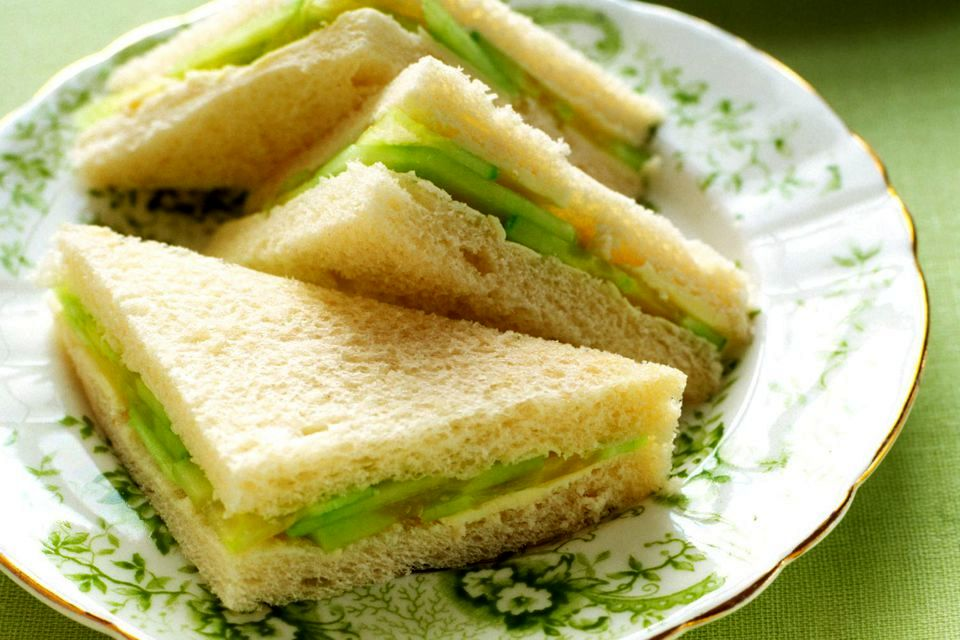 Английские сэндвичи с огурцами | Рецепты с фото