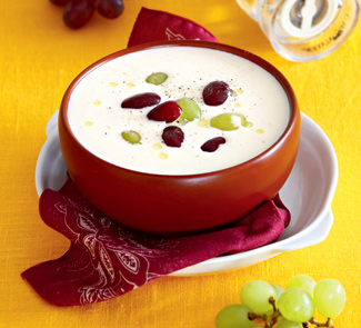 Ахо бланко, миндальный суп | Рецепты с фото