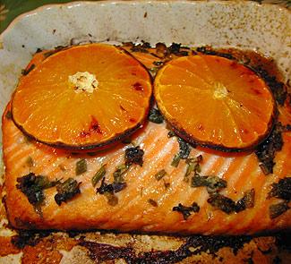 Апельсиновая семга | Рецепты с фото