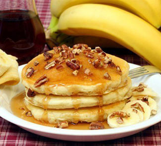 Банановые оладьи | Рецепты с фото