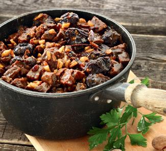 Баранина с черносливом по-алжирски | Рецепты с фото