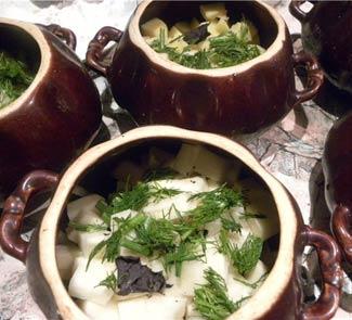 Баранина в горшочках по-ирландски | Рецепты с фото