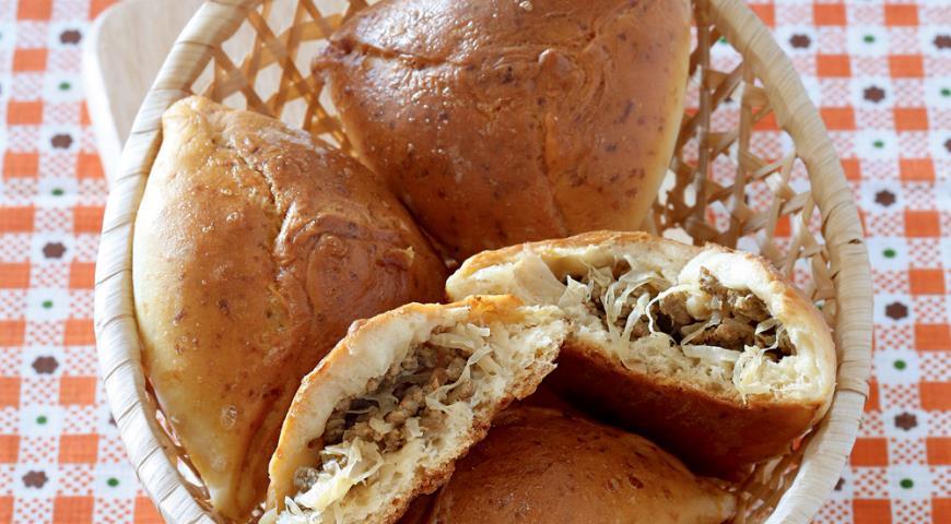 Бирокс, пирожки с капустой и мясом | Рецепты с фото