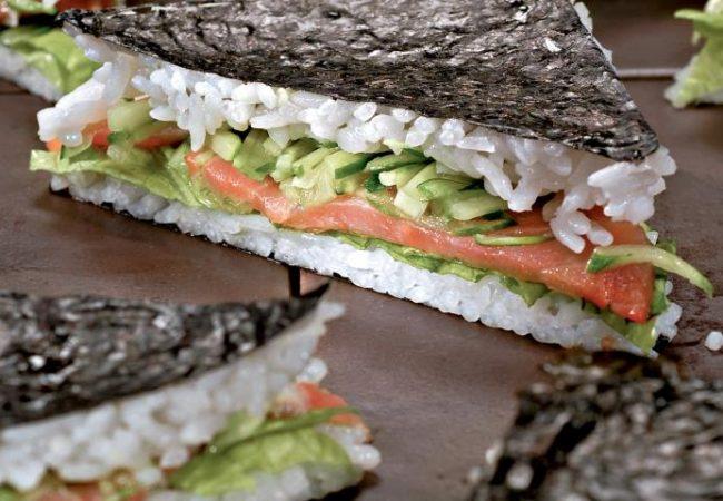 Бутерброд-суши | Рецепты с фото