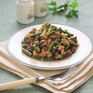 Быстрое рагу сзелеными овощами | Рецепты с фото