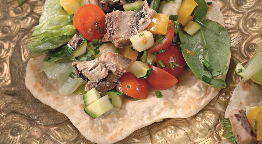 Cалат с сардинами | Рецепты с фото