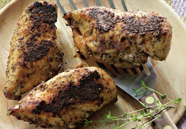 Черненые куриные грудки | Рецепты с фото