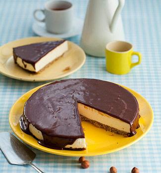 Чизкейк из черного хлеба | Рецепты с фото