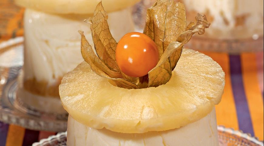 Чизкейки с ананасами | Рецепты с фото