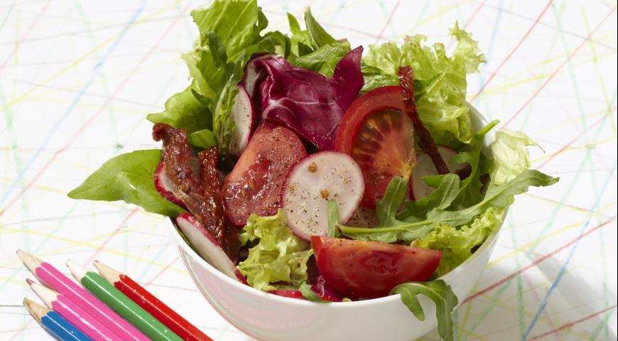 Дачный салат | Рецепты с фото