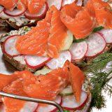 Датский открытый сэндвич   Рецепты с фото