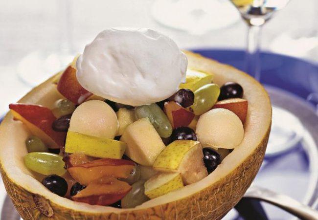 Десерт из дыни | Рецепты с фото