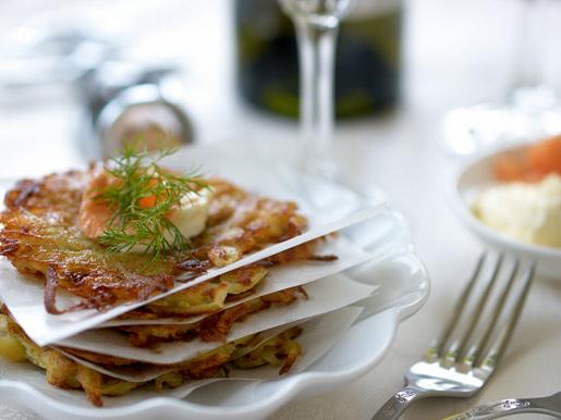Драники с лососем | Рецепты с фото