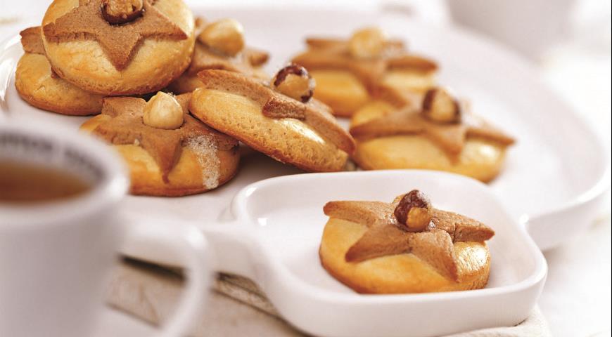 Двухцветное песочное печенье | Рецепты с фото