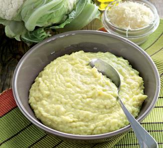 Фальшивое картофельное пюре с сыром | Рецепты с фото