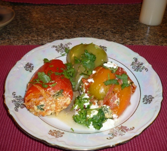 Фаршированный перец Сюрприз | Рецепты с фото