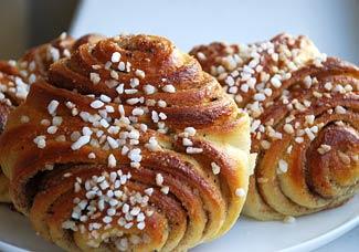 Финские булочки с корицей | Рецепты с фото