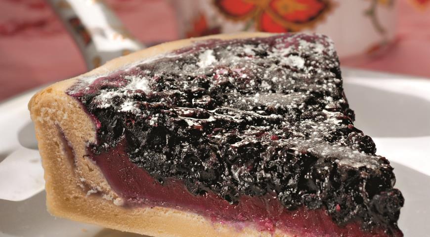 Финский черничный пирог | Рецепты с фото