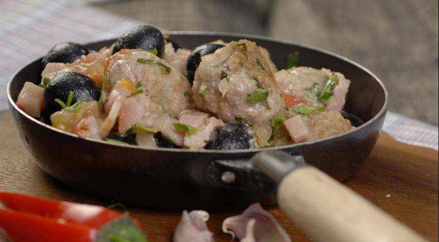 Фрикадельки по-лангедокски   Рецепты с фото