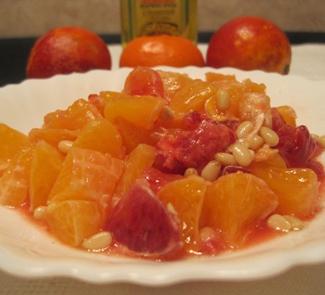 Фруктовый салат с кровавым апельсином | Рецепты с фото