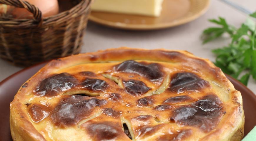 Фыдджин, осетинский пирог c куриными желудками   Рецепты с фото