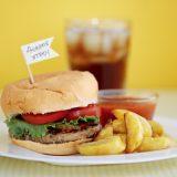 Гамбургер с картошкой | Рецепты с фото