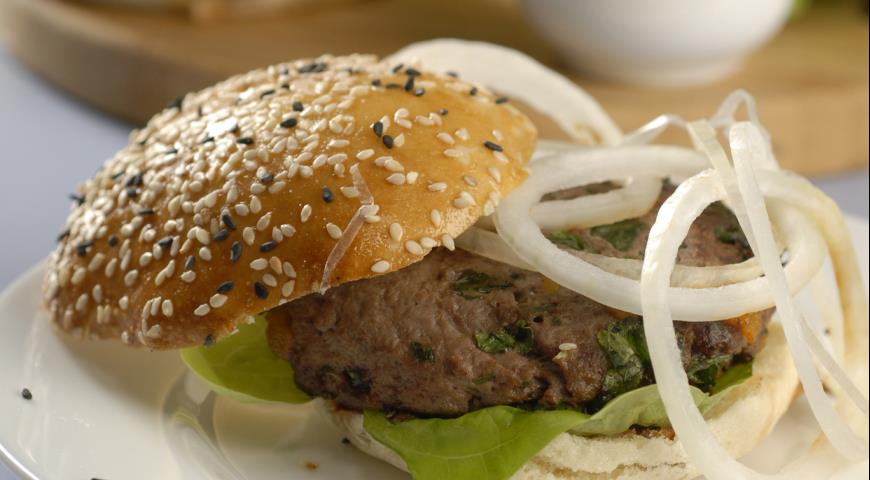 Гамбургеры с курагой | Рецепты с фото