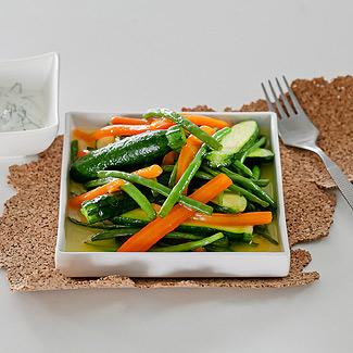 Глазированные молодые овощи в мультиварке | Рецепты с фото